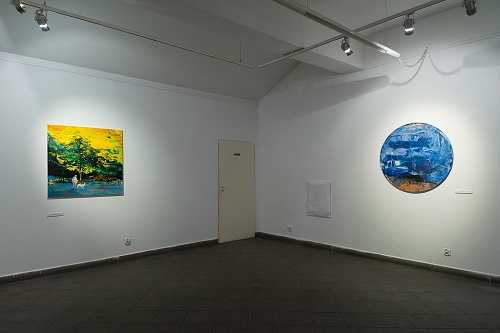 Grazyna Smalej exhibition in Solvay 2014